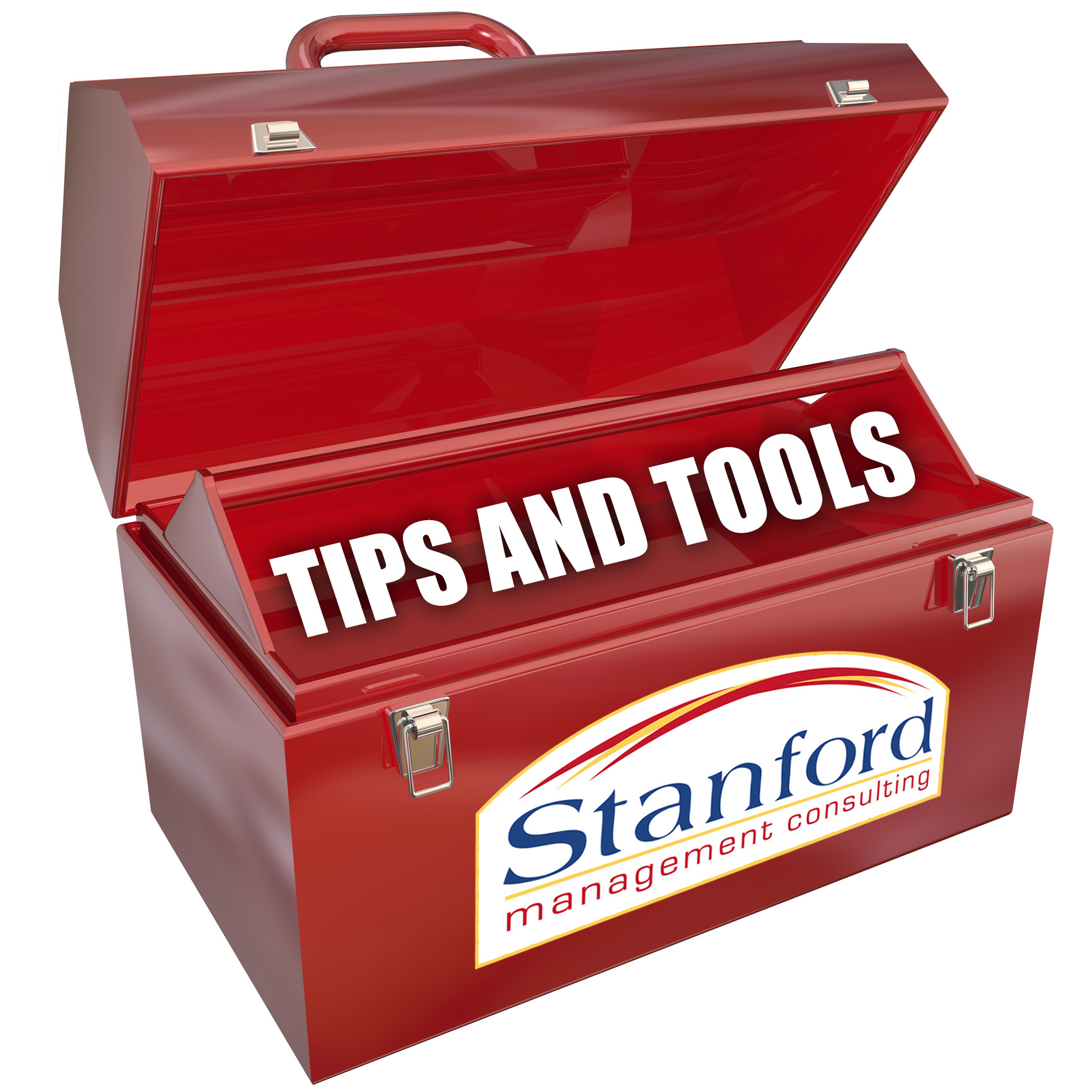 pre planned profit determine the requirements and plan for empty red toolbox for your copy or message blank copyspace